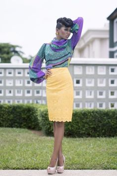 Nigerian design label Sisiano debut collection-Ms green-the-beginning