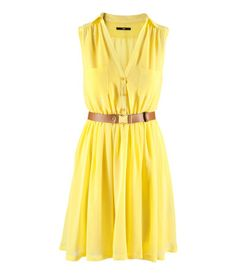 H&M Sundress >> Would feel like sunshine in this beauty!