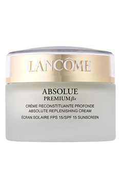 Lancôme 'Absolue Premium ßx' Absolute Replenishing Cream SPF 15 available at #Nordstrom