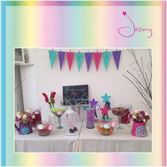 Mesa de dulces ! Bautizo ! Twitter: @jasny_pk ! www.Facebook.com/jasny.pk !*
