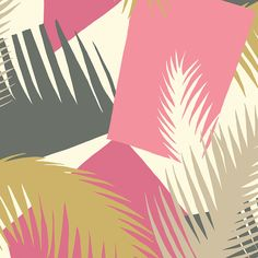 Add glamorous Miami style to the home with this Deco Palm wallpaper from Cole & Son. Inspired by the exotic foliage abundant in the city, this wallpaper takes the palm tree pattern to new heights g...