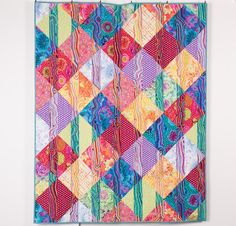 Funky Stripes Pattern by Allison Quilt Designs