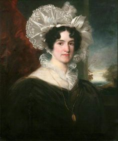 """""""Mary Anne Smith, neé Chamberlain"""", ca. 1830; Lawrence House Museum LAULH 2011.206"""