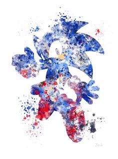Hey, I found this really awesome Etsy listing at https://www.etsy.com/ru/listing/201259572/sonic-the-hedgehog-art-print-10-x-8