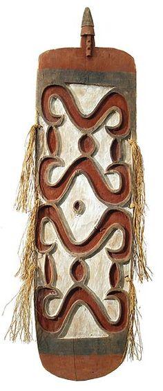 Asmat Shield 2, New Guinea