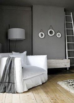 Loft wallcolour. By Painting the Past