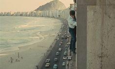 Jean-Paul Belmondo dans L'Homme de Rio (Philippe de Broca, 1964)