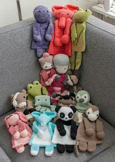 Crochet amigurumi lovey