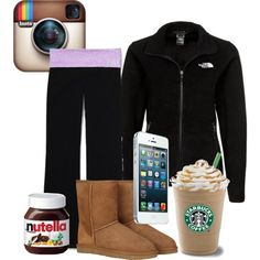 """""""the common white girl"""" by elizabethnae ❤ Basically. Minus the Nutella. I can now be content. Common White Girl, Typical White Girl, Basic White Girl, White Girls, White Girl Outfits, Outfits For Teens, Cute Outfits, Dresses Near Me, White Chicks"""