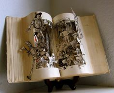Susan Hoerth book sculpture