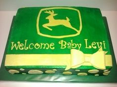 john deere baby shower cakes and ideas | John Deere Baby Shower