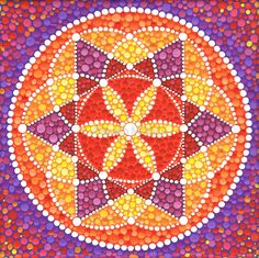 Sacred Geometry Star Flower von Elspeth McLean