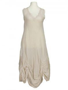 Damen Baumwollkleid, beige von Montan bei www.meinkleidchen.de