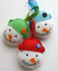 felt ornaments - Google 搜尋