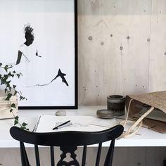 Akvarelový plakát Ballerina 50 x 70 cm   Nordic Day