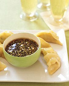 Dipping saucecombine 1/4 cup plus 1 tablespoon soy sauce, 2 ...