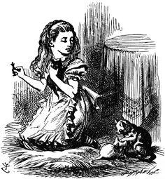150 #Aliceinwonderland #vintage #printable #illustration #sketch #blackandwhite #fairytale #bizitalk