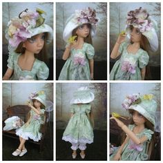 OOAK Full Set Maddison MSD BJD by Liz Frost with Handmade Outfit by Monica Spicer