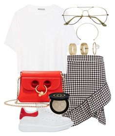 """Untitled #58"" by franciscanunes on Polyvore featuring Boohoo, Vince, Alexander McQueen, J.W. Anderson, Gucci and Miss Selfridge"