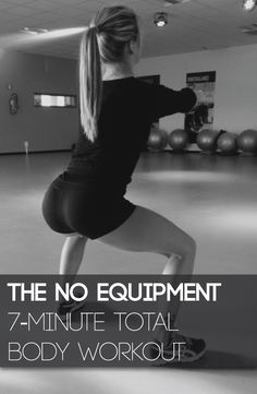 A seven-minute total body workout without gym equipment...Is that even possible?! It most certainly is!