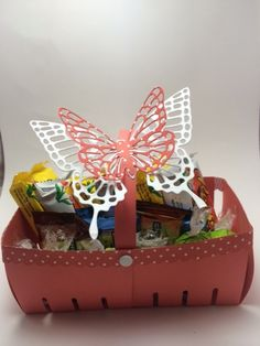 Beth metzzger cased from sarahs stampin retreat stampin up easter double berry basket designed by demo beth mccullough see more negle Choice Image