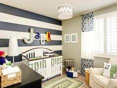 Preppy Nursery Room