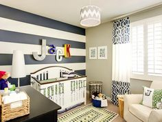 Preppy Nursery Room
