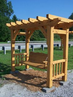 Pergola With Retractable Canopy Info: 5791042031 Diy Pergola, Pergola Swing, Pergola With Roof, Pergola Kits, Pergola Ideas, Gazebo, Backyard Patio Designs, Backyard Projects, Outdoor Projects