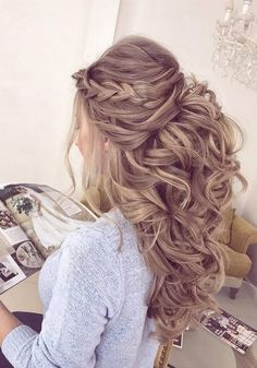 Elstilespb Long Wedding Hairstyles / http://www.deerpearlflowers.com/long-wedding-hairstyles-from-instagram-hair-gurus/2/