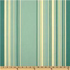 Teal Stripe Fabric