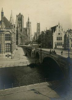 Gent 1913 | Sint-Michielshelling anno 1913