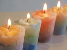 Handmade Candle in Furano, Candle Ships