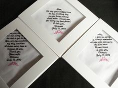 3 wedding Mix and Match Custom Special Occasion Machine Embroidered Handkerchiefs with gift boxes on Etsy, $59.00