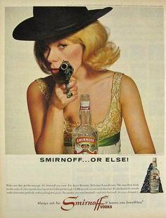 vintage vodka ads - Google Search