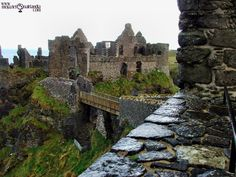 Moja Zielona Irlandia: Zamek z Duchami - Dunluce Castle