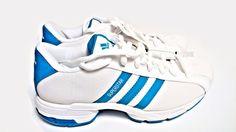Rare Adidas Hooprun W SS2G6 Superstar Womens Shoe White Aqua UK6 US7.5 JPN245 #adidas #FashionSneakers