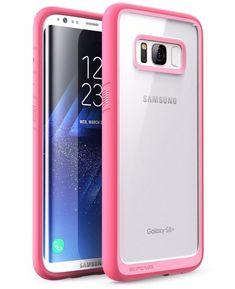 Samsung Galaxy S8 Plus SUPCASE Unicorn Premium Protective Clear Pink Case #SUPCASE