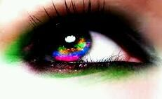 i wish my eye looked like that.