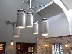 Milk churn lighting