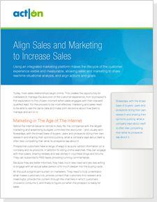 Align Sales and Marketing to Increase Sales