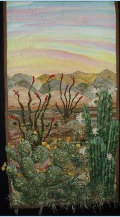 desert landscape quilt patterns - Google Search