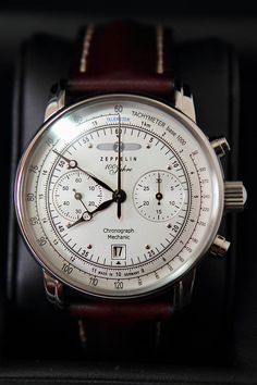 Zeppelin 100 Years Chronograph (7608-1) Tan