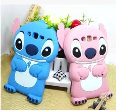 3D Stitch Case with Movable Ear for Samsung Galaxy J1 J5 J7 A8 A7 A5 A3