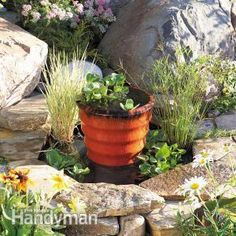 How to Build a Pond & Fountain in One Day