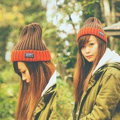 チラ ・`ω・) #scorpionheadwear #scorpionGEM #scorpiongem #チラ見された #ビーニー #beanie #GEM #SCORPION #scorpionheadwear #scorpionHW #ニット #ニット帽 #バンダナ #ニットブランド #madeinjapan #国産 #オシャレ #ゲレンデ #スノーボード