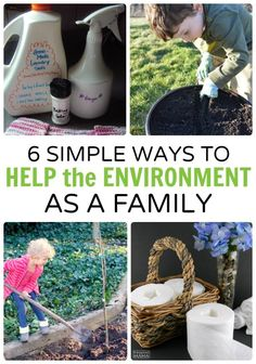6 Simple Ways to Help the Environment - as a Family!   #ad #TubeFree - at B-Inspired Mama