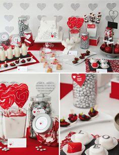 stunning Valentine's day table