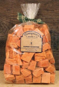 "Thompson's Candle Co Super Scented Crumbles/Tarts/Wax Melts 32 oz ""Pumpkin Pie"" #ThompsonsCandleCo"