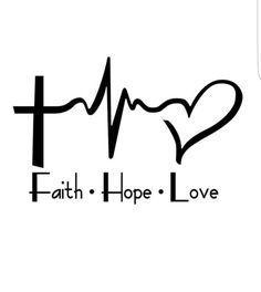 Faith Hope Love Laptop Car Vinyl Window Decal Sticker Christian Cross draw tutorial for beginners Future Tattoos, Love Tattoos, Body Art Tattoos, Tattoos For Women, Tatoos, Script Tattoos, Girl Tattoos, Faith Hope Love Tattoo, Faith In Love