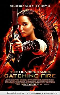 Catching fire movie poster